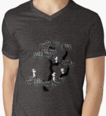 Kodama Tree Men's V-Neck T-Shirt