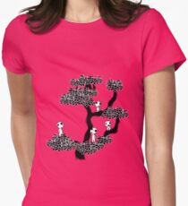 Kodama Tree Womens Fitted T-Shirt