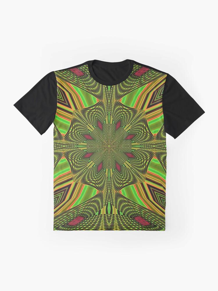 Alternate view of Boho Chic Bohemian 5 Graphic T-Shirt