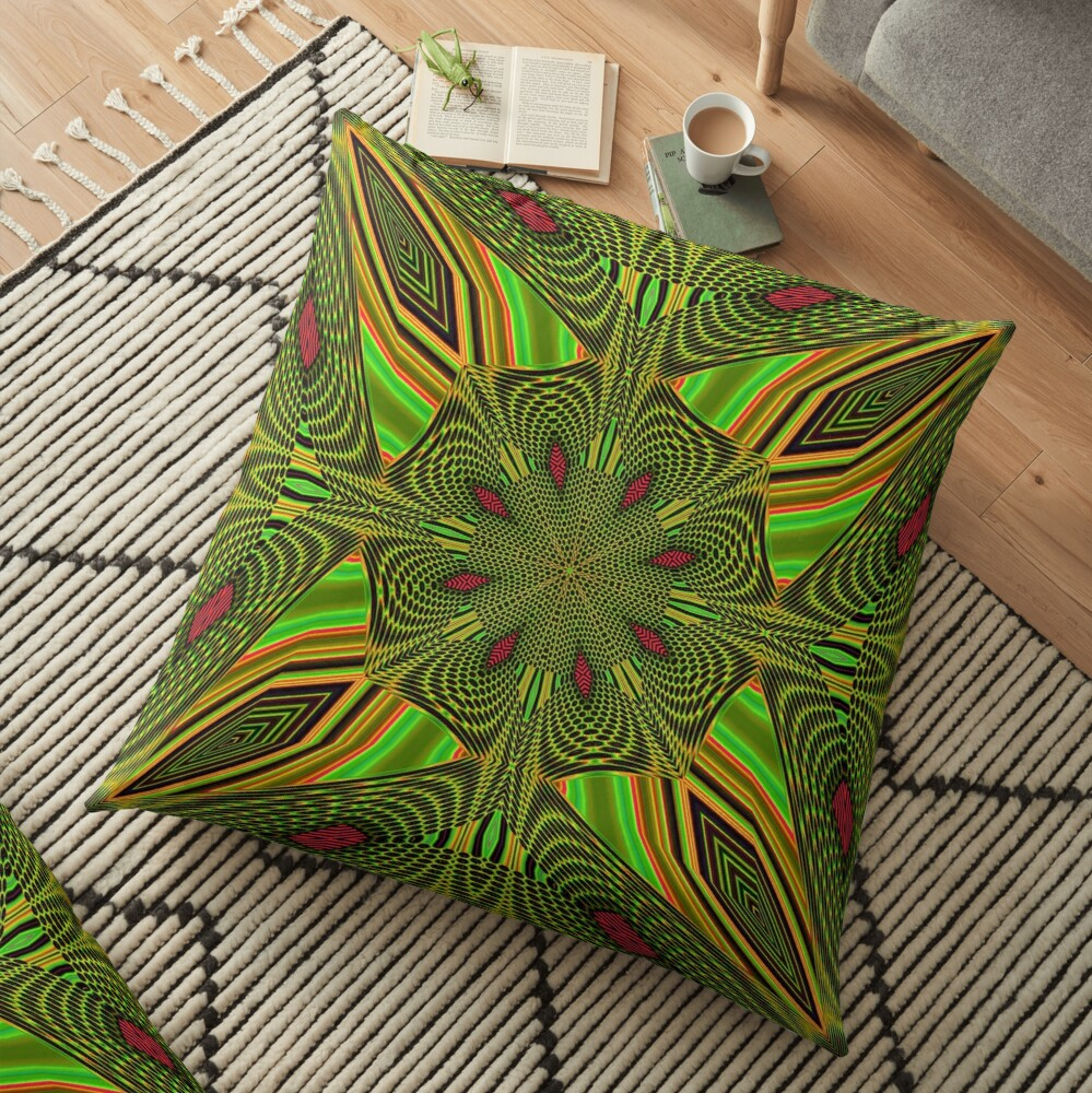 Boho Chic Bohemian 5 Floor Pillow
