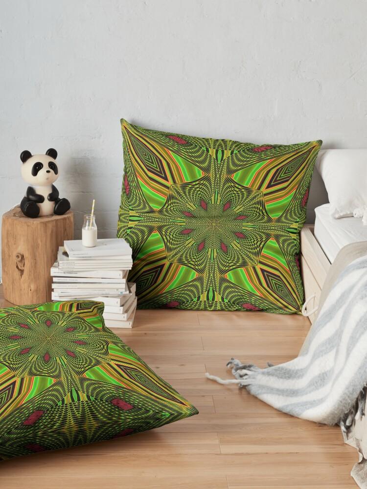Alternate view of Boho Chic Bohemian 5 Floor Pillow