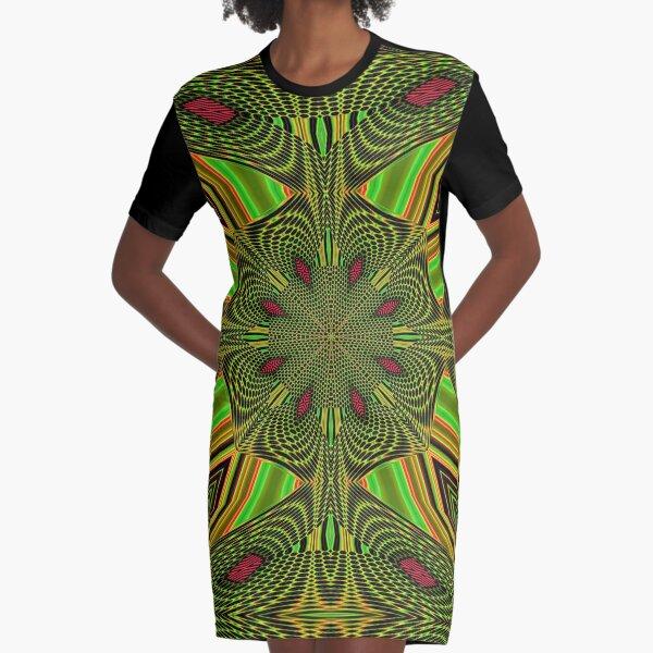 Boho Chic Bohemian 5 Graphic T-Shirt Dress