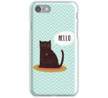 Hello Catty iPhone Case/Skin