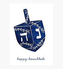 Happy Hanukkah! Photographic Print