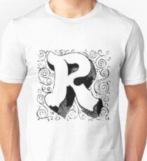 Block Alphabet Letter R Unisex T-Shirt