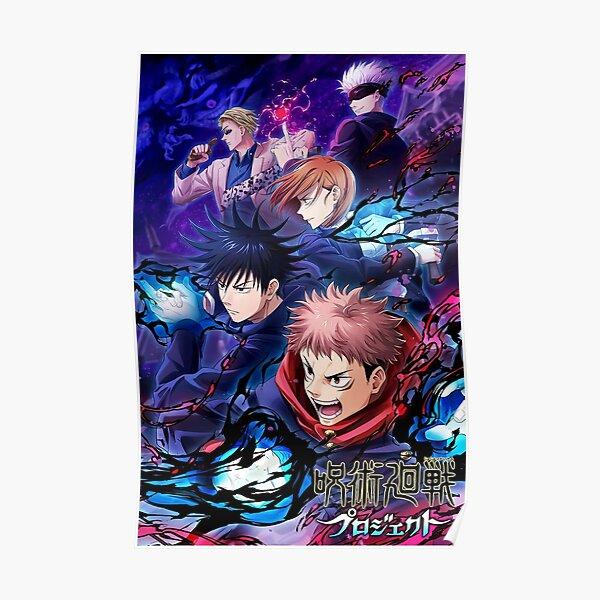 JJK Movie Team Cover Poster