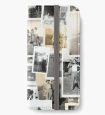 Old Photographs iPhone Wallet/Case/Skin