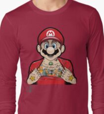 Mario's Got Ink Long Sleeve T-Shirt