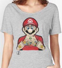 Mario's Got Ink Women's Relaxed Fit T-Shirt