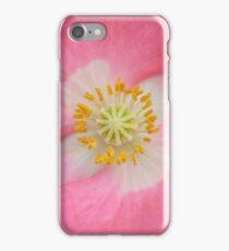 roze klaproos iPhone Case/Skin