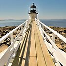 Marshall Point Lighthouse I by Marianne Campolongo