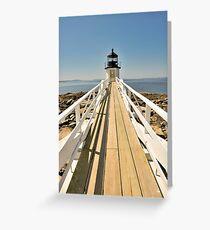 Marshall Point Lighthouse I Greeting Card