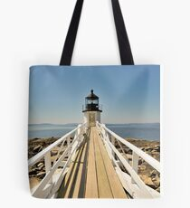 Marshall Point Lighthouse I Tote Bag