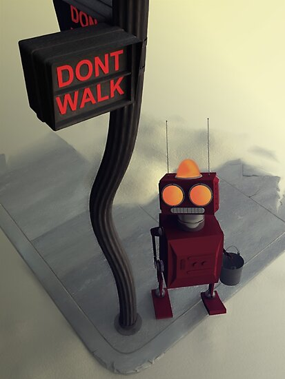 Don't Walk by mdkgraphics