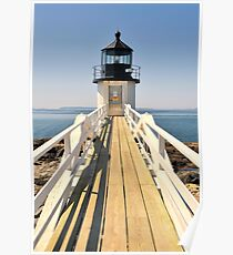 Marshall Point Lighthouse II Poster