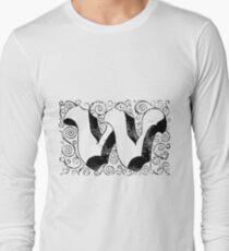 Block Alphabet Letter W T-Shirt