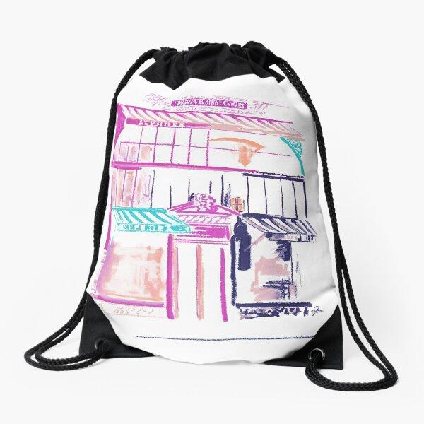 Manhattan in Bloom - Historic Midtown Drawstring Bag