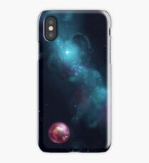 Lonely in space iPhone Case