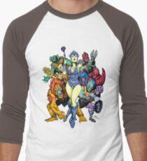 The bad guys of Eternia Men's Baseball ¾ T-Shirt
