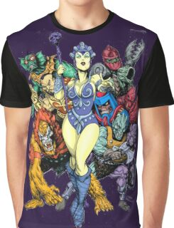 The bad guys of Eternia Graphic T-Shirt