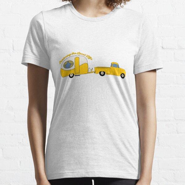 Yellow Truck & Camper Essential T-Shirt