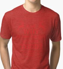 """Christmas Vacation """"And WHY is the carpet all wet, TODD?""""- Red Ink Tri-blend T-Shirt"""