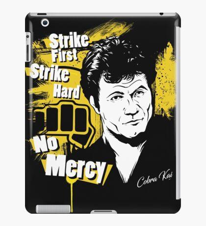 Strike First Strike Hard No Mercy iPad Case/Skin
