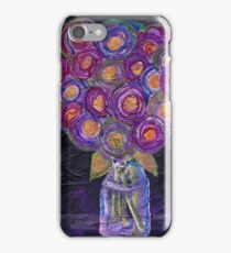 Neon Roses by Adrianna Stepiano iPhone Case/Skin