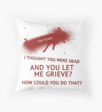 Two Years Throw Pillow