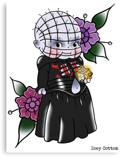 Pinhead Kewpie Hellrasier by zoeycottom