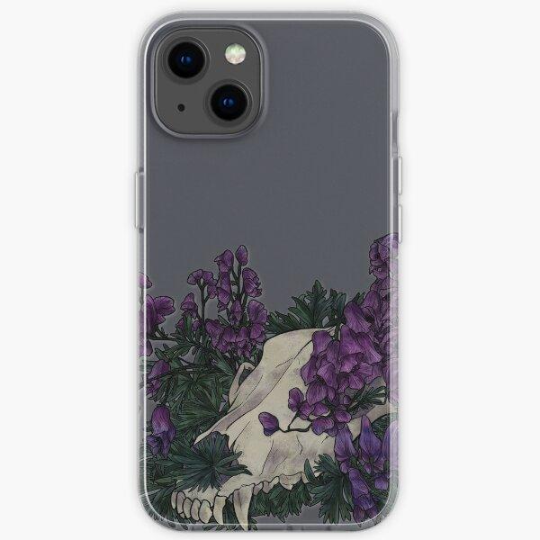 Aconite Skull iPhone Soft Case