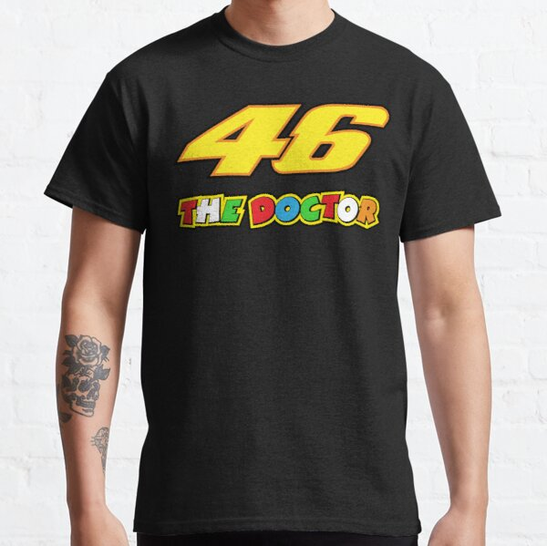 Valentino Rossi Number 46 The Doctor Classic T-Shirt
