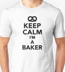 Keep calm I'm a Baker Unisex T-Shirt