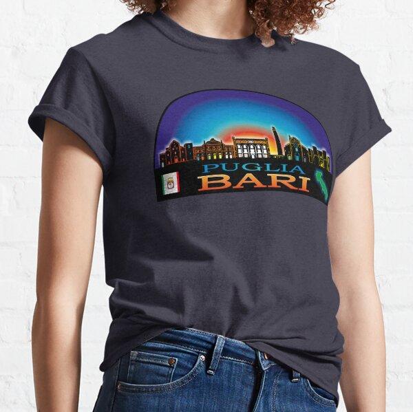 Puglia Bari skyline aesthetic Classic T-Shirt