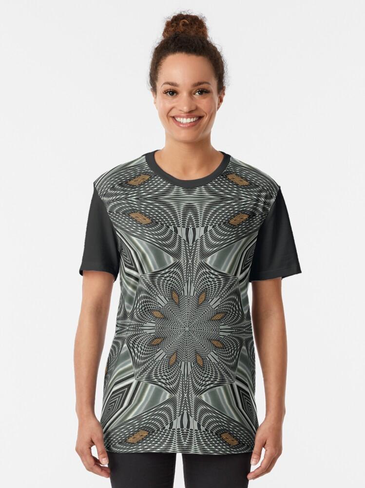 Alternate view of Boho Chic Bohemian 6 Graphic T-Shirt