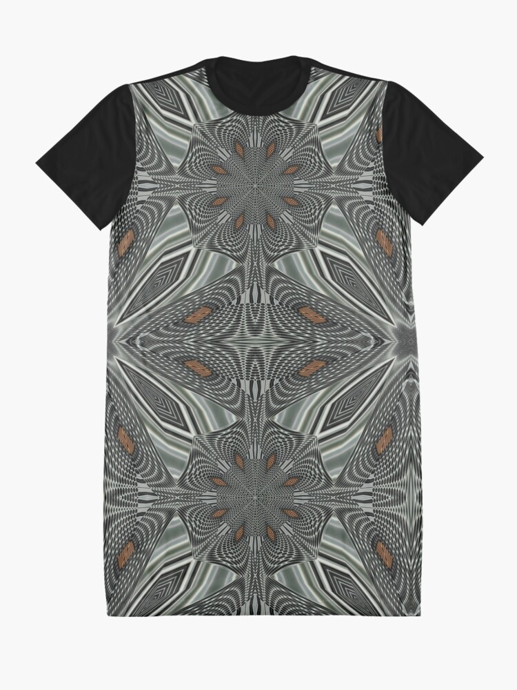 Alternate view of Boho Chic Bohemian 6 Graphic T-Shirt Dress