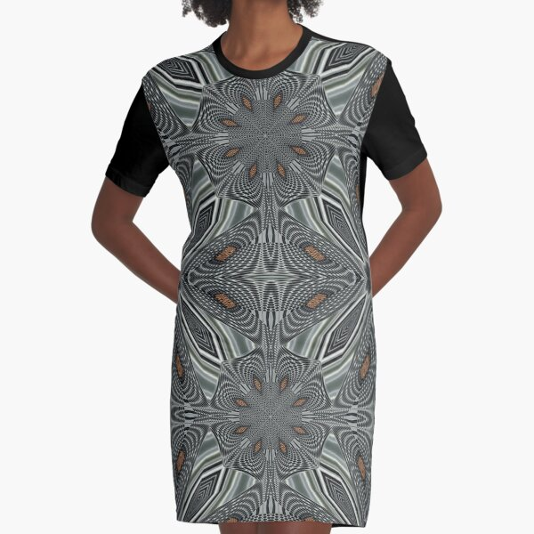 Boho Chic Bohemian 6 Graphic T-Shirt Dress