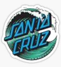 Santa cruz sticker  Sticker