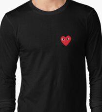 Heart Bape sticker Long Sleeve T-Shirt