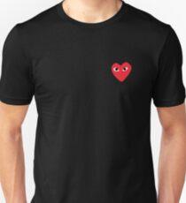 Heart Bape sticker Unisex T-Shirt