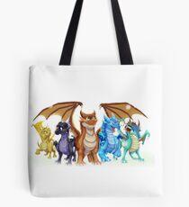Wings of Fire Main Five Tote Bag