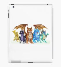 Wings of Fire Main Five iPad Case/Skin