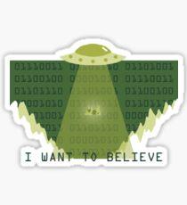 Gameboy UFO Sticker