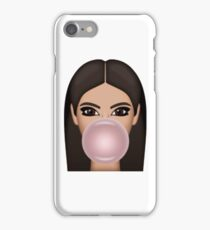 Bubble Gum Kimoji iPhone Case/Skin