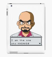 I am the one who knOAKs iPad Case/Skin
