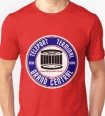 GRAND CENTRAL NEW YORK TELEPORT TERMINAL T-Shirt