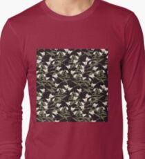 White Calla Lily Long Sleeve T-Shirt