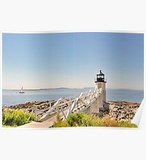 Marshall Point Lighthouse IV Poster