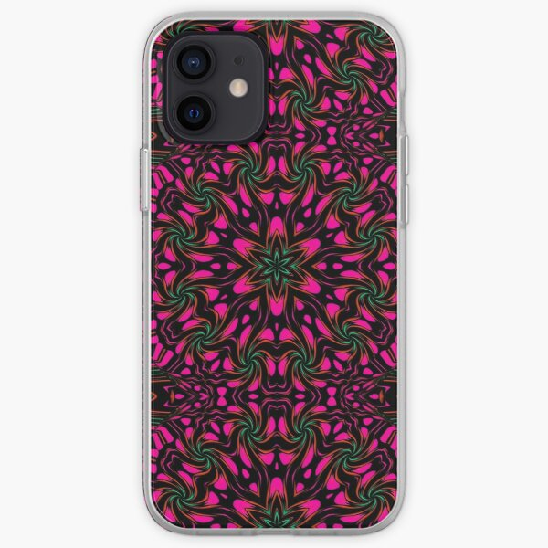Arcadia Red Flower 2 iPhone Soft Case