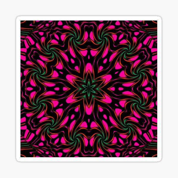 Arcadia Red Flower 2 Sticker